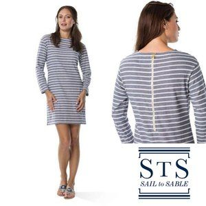 Sail To Sable Striped T-Shirt Dress- NWOT!
